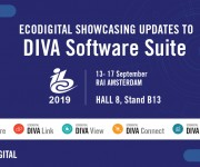 EcoDigital to Showcase Updates to DIVA Software Suite at IBC2019