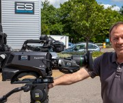 ES Broadcast Hire adds Panasonic live system cameras to UHD hire fleet