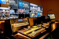 Faith Assembly of God Installs FOR-AS HVS-350HS Video Switcher as Central Video Production Hub of New Campus