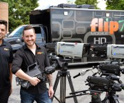 FlipTV Goes Mobile with HITACHI SK-HD1300 Cameras