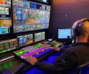 FOR-A HVS-2000 Video Switcher Helps Custom Media Solutions and nbsp;Pivot from Live Event to Streaming Event with Limited Crew and nbsp;