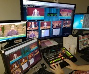 GovTV Anchors Remote Turnkey Video Production for City of Lancaster with Broadcast Pix BPswitch Integrated Production Switcher