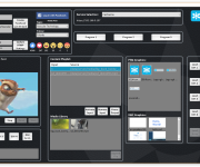 Highlighting PC-based video playout control and media management systems