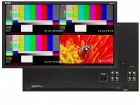 IBC 2013: Marshall Electronics Introduces the 27 2560x1440 Resolution 2K 4K Compatible Quad-Viewer Monitor