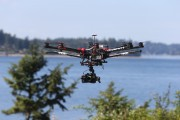 INTEGRATED MICROWAVE TECHNOLOGIES (IMT) microLITE HITCHES A RIDE ON HELIVIDEO UAV FOR COVERAGE OF U.S. OPEN