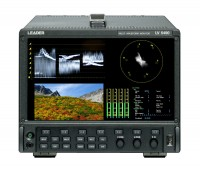 Leader announces new LV5490 SD to 4K multi-standard multi-waveform monitor