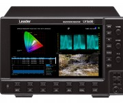 Leader Announces New Options for LV5600 and LV7600 Broadcast Test Instruments