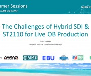 Leader Electronics to Address The Challenges of Hybrid SDI and ST 2110 for Live OB Production