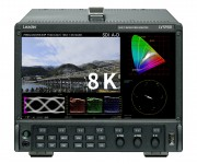 Leader LV5900 HD 4K 8K Monitors BT Sport Live 8K Broadcast into IBC 2019
