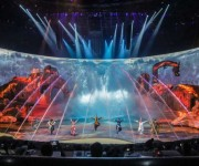 Luc Petit and rsquo;s highly anticipated creation of the and lsquo;Qing Show and rsquo; opens in China with disguise at the heart of Projection workflows
