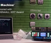 LYNX Technik and reg; greenMachine and reg; Wins Broadcast Industry Award at SATIS 2017