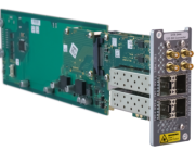 LYNX Technik Expands Series 5000 Series with 12G Bi-Directional  Quad SDI Fiber Transceiver