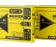 LYNX Technik Launches yellobrik 8K Fiber Transmission Solution