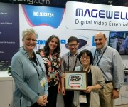 Magewell NDI(r) Converters Win TV Technology and quot;Best of Show Award at NAB 2019