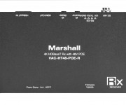 Marshall Electronics Announces New HDBaseT Receiver