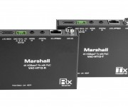 Marshalls Single-Cable-To-Camera Solutions with HDBaseT Technology Featured at IBC 2017