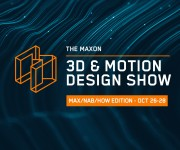 Maxon Announces October 3D and amp; Motion Design Show Lineup