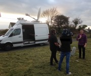 Megahertz delivers new HD satellite OB vehicle to Tinopolis for live production of local Primetime TV content