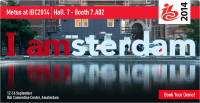 Metus will exhibit at IBC2014, Amsterdam RAI
