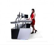 Middle Atlantic Now Offers Premier Control Room Furniture Solutions from LundHalsey