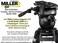 Miller Camera Support, LLC Hosts Charitable Raffle Event At The 2014 NAB Show