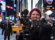 Miller Camera Support Hustles Through Times Square with Videographer Levi Whitney to Capture Corporate Commercial