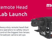 Mo-Sys Launch U50 Remote Camera Control Head for Box Lenses