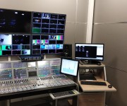 Nash TV channel in Ukraine chooses two Calrec Artemis consoles for 24 7 news programming