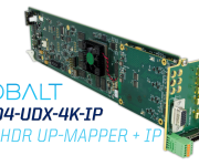 Next-Gen Scaler and Frame Synchronizer From Cobalt Boasts Advanced HD UHD Conversion and Processing