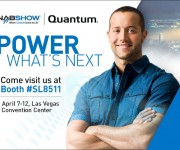 Quantum to showcase performance leadership at NAB