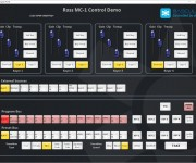 Rascular Announces Ross MC1 Channel Branding and Master Control Switcher Helm Control Integration