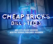 Red Giant Recreates Time Travel from and ldquo;Bill and Ted 3: Face the Music and rdquo; in New Cheap Tricks Episode
