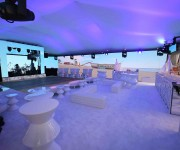 Renewed Vision ProVideoPlayer2 Saves Massive Video Wall Attraction at Private Beach Party