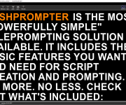 RUSHWORKS introduces RUSHPROMPTER: and ldquo;Powerfully Simple and rdquo; teleprompting software
