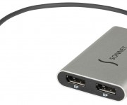 Sonnet Announces Mac- and Windows-Compatible Thunderbolt 3 to Dual DisplayPort Adapter