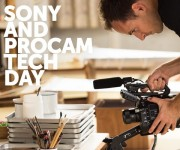 Sony and  Procam Technology Day Thursday, March 23rd