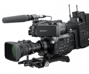 Sony enhances FS7 and FS7 II camcorders with ENG-style build-up kit and B4 lens to E-mount adapter ready for news production