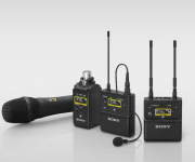 Sony launches new high-quality wireless microphone systems supporting Multi Interface Shoe with Digital Audio Interface and advanced XDCAM camcorder integration