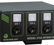 Studio Technologies Adds Model 374A to Line of Dante and reg; Intercom Beltpacks