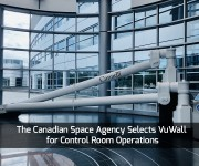 The Canadian Space Agency Selects VuWall for Control Room Operations