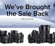 The Sigma Holiday Sale Is Back