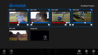 Thinkbox Software Launches Cinelab Touch-Interface Video Editing App for Windows 8
