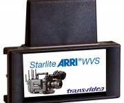 Transvideo CEO Jacques Delacoux congratulates ARRI on their ARRI ALEXA SXT W Wireless Camera