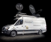 TSL Products Maintains Audio Contribution Feeds for  Timeline RF Uplink Trucks