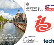 UK companies set to deliver the goods - and services - at IBC 2018
