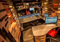 Videohouses ProjectBuilders Unit Installs SSL C100 HDS Consoles for DR OB Trucks