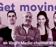 Virgin Media selects Globecast for playout of and lsquo;pop-up and rsquo; HD exercise channel and lsquo;Get Moving and rsquo;