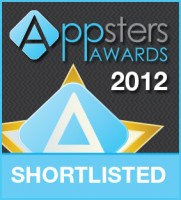 Vision247 shortlisted for Appsters Best TV App 2012 award