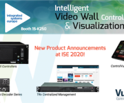 VuWall Is Increasing Productivity and Enhancing Visualization Experiences at ISE 2020