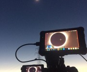 When you only have one chance  Josh Wiese perfectly captures the solar eclipse with the Sony FS7 and Atomos Ninja Flame monitor recorder